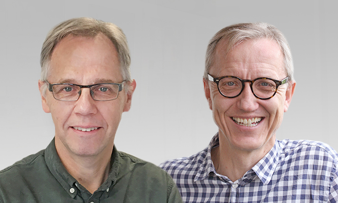 Grant recipients Professor Hans Thordal-Christensen and Professor Michael Broberg Palmgren, both from Department of Plant and Environmental Sciences, University of Copenhagen.